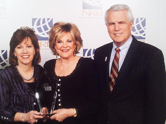 NRB President Frank Wright - Kay Arthur wins Hall of Fame Award